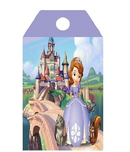 Princess Sofia the First Gifts Tags - 12 pcs set