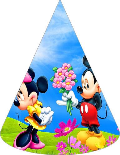 Mickey Minnie Party Hats - 6pcs