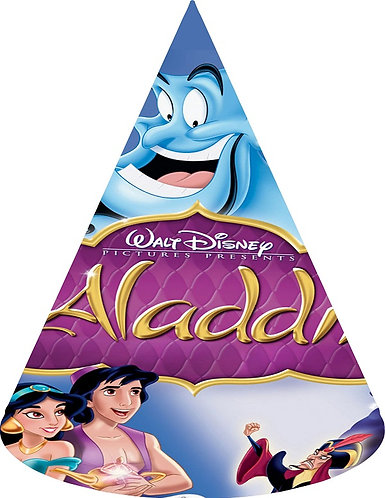 Aladdin Party Hats - 6pcs