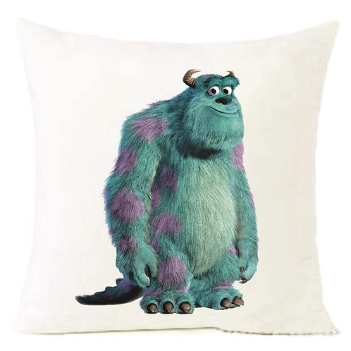Monsters Inc Blue Cushion Decorative Pillow - 40cm