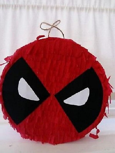 Spiderman Birthday Party Pull Strings Pinata - 35cm