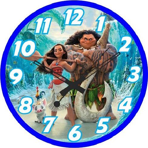 Moana Clock