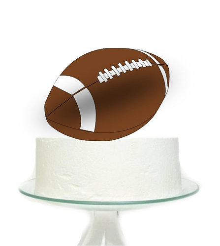 Football Sports Big Topper for Cake - 1pcs set