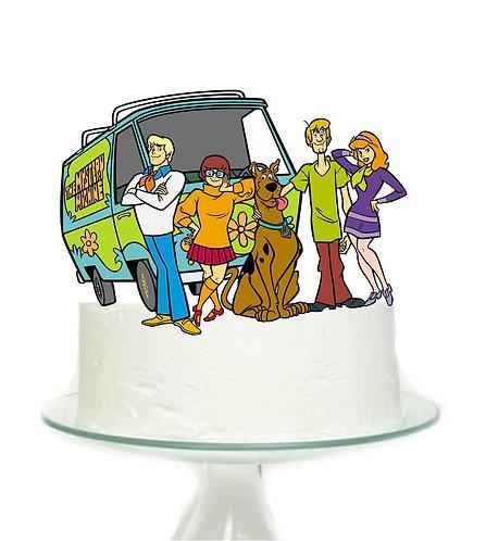 Scooby Doo Big Topper for Cake - 1 pcs set
