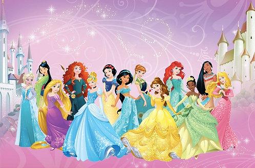 Princess Invitations - 6pcs party invites