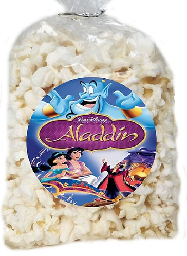 Aladdin Jasmin Giveaways Clear Bags for Popcorn or Candies - 12