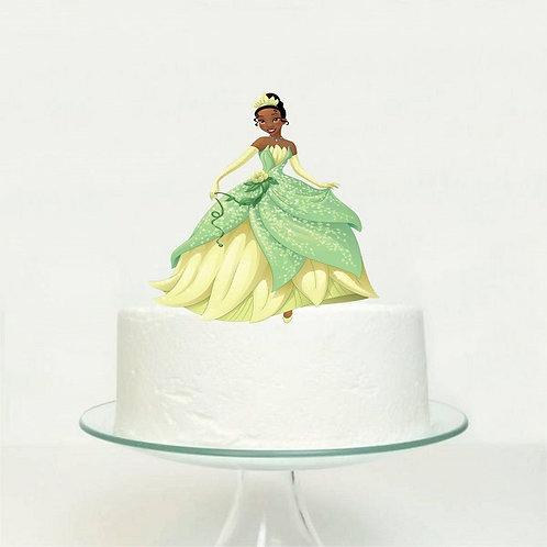 Princess and the Frog Tiana Big Topper for Cake - 1 pcs set