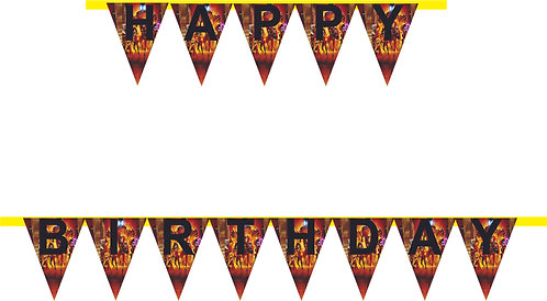 Incredibles HAPPY BIRTHDAY Banner