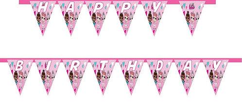 LOL Surprise Dolls HAPPY BIRTHDAY Banner