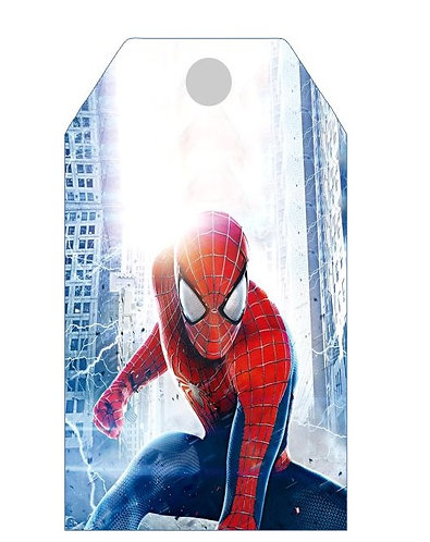 Spiderman Gifts Tags - 12 pcs set