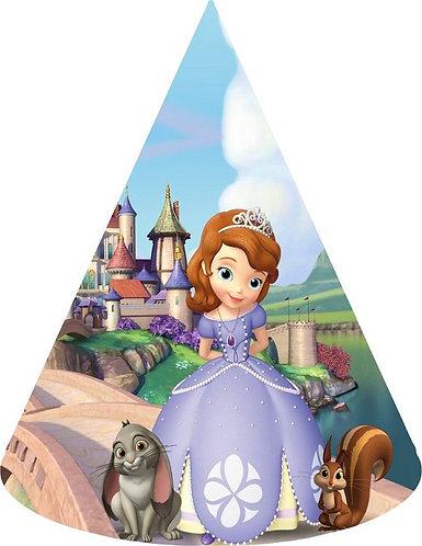 Princess Sofia the First Party Hats - 6pcs