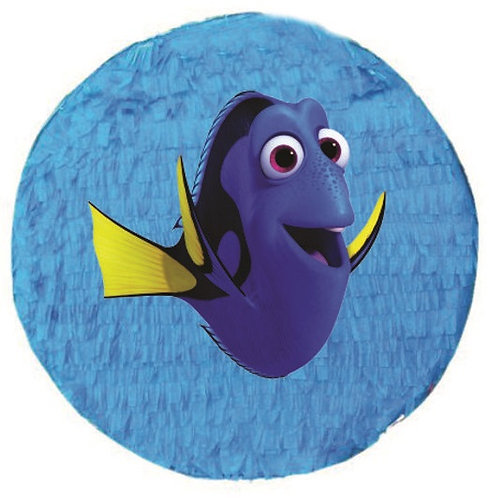 Nemo Dory Birthday Party Pull Strings Pinata - 35cm