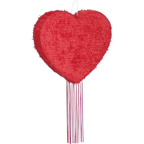 ANY COLOR Heart Valentines Day Party Pull Strings Pinata - 40 cm