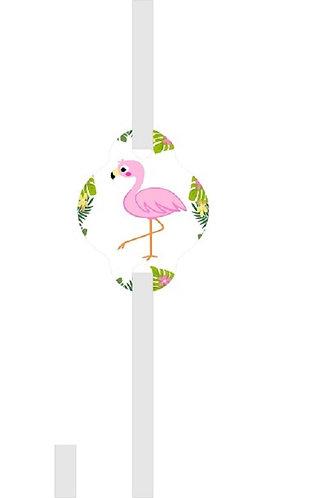 Flamingo Straws - 12 pcs set