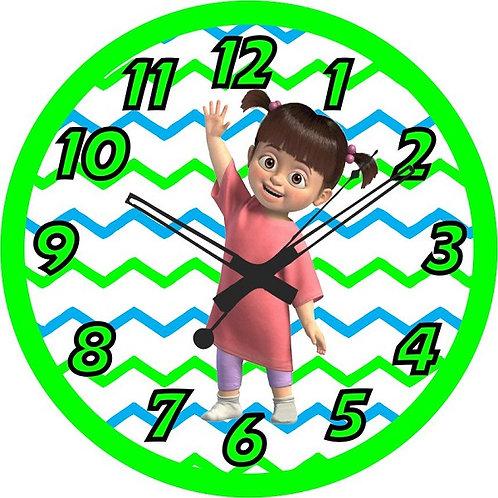 Monsters Inc Clock