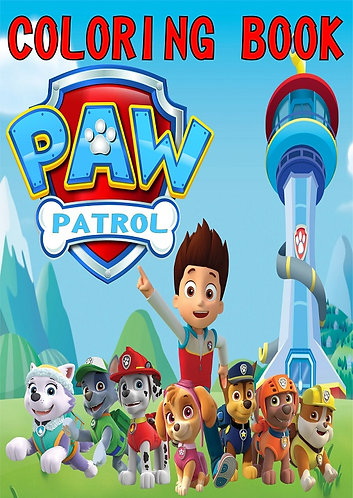 Paw Patrol Small Coloring Book