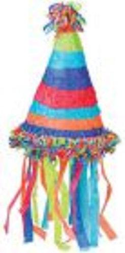 Birthday Hat Party Pull Strings Pinata - 40 cm