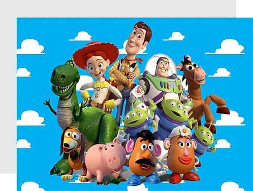 Toy Story Invitations - 6pcs party invites