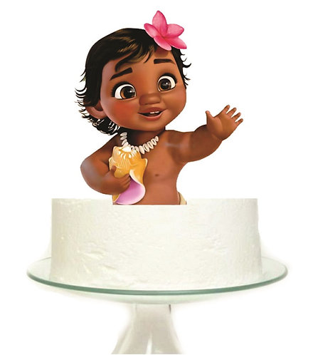 Moana Baby Big Topper for Cake - 1 pcs set