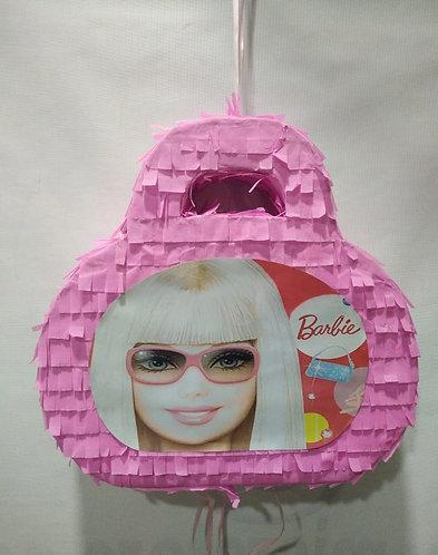 Barbie Purse Birthday Party Pull Strings Pinata Round -40 cm