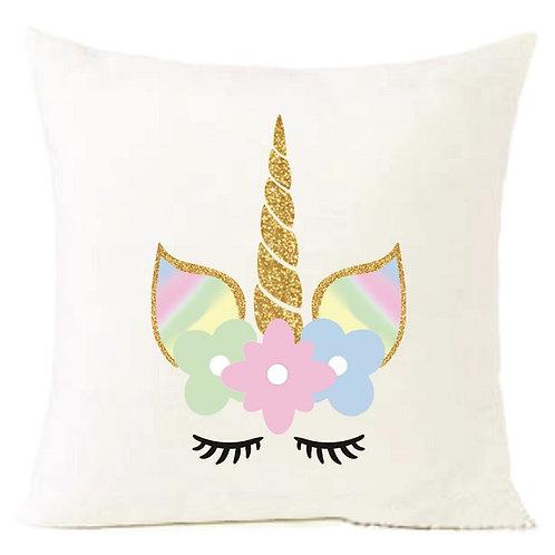 Unicorn Cushion Decorative Pillow - 40cm