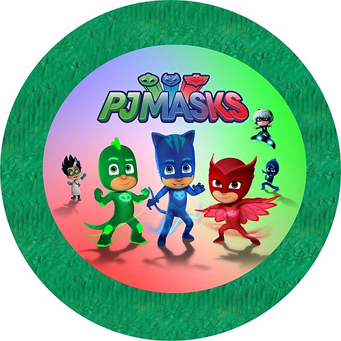 PJ Masks Birthday Party Pull Strings Pinata - 35cm