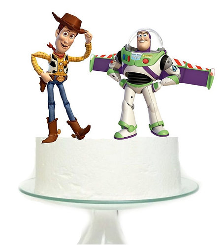 Toy Story Woodie or Buzz Lightyear Big Topper for Cake