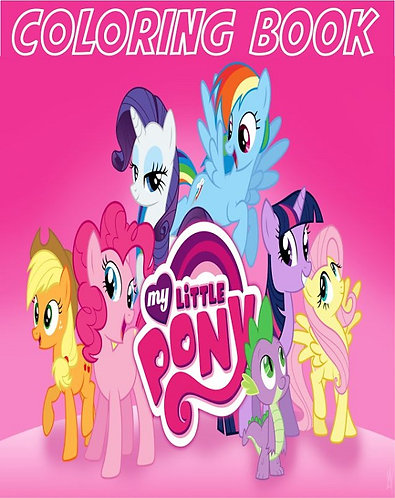 My Little Pony Small Coloring Book
