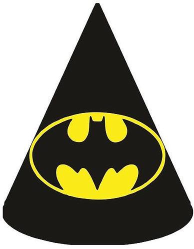 Batman Logo Party Hats - 6pcs