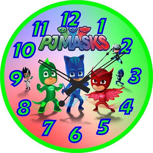 Pj Masks Clock