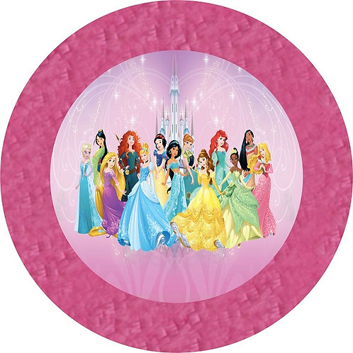 Princess Birthday Party Pull Strings Pinata - 35cm