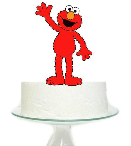 Sesame Street Elmo Big Topper for Cake - 1 pcs set