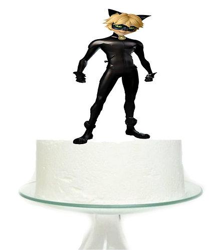 Miraculous Cat Noir Big Topper for Cake - 1pcs set