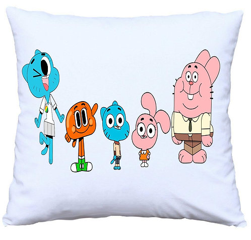 Gumball Family Cushion Decorative Pillow - 40cm