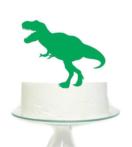 Green Dinosaur Big Topper for Cake - 1 pcs set