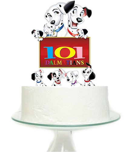 101 Dalmatians Big Topper for Cake- 1 pcs set