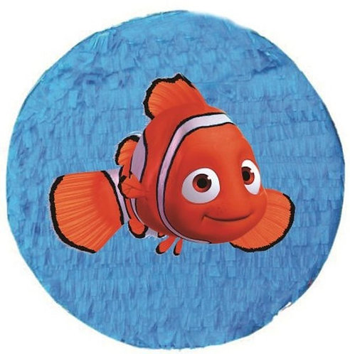 Nemo Birthday Party Pull Strings Pinata - 35cm
