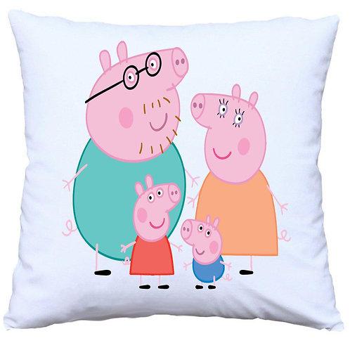 Peppa Pig Family Cushion Decorative Pillow - 40cm