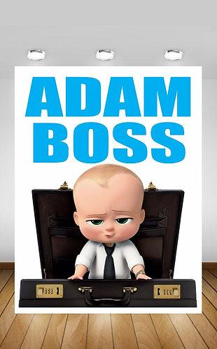 Boss Baby Backdrop