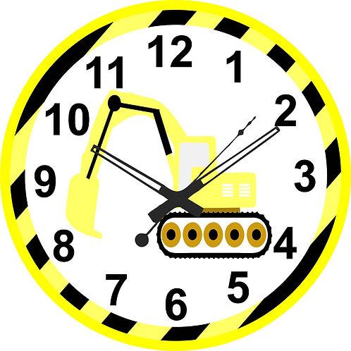 Under Construction Clock
