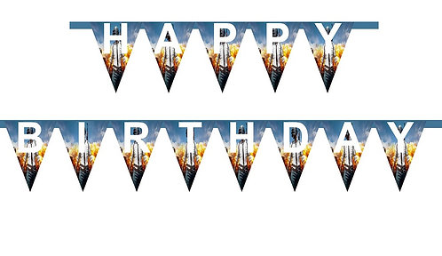 PUBG HAPPY BIRTHDAY Banner