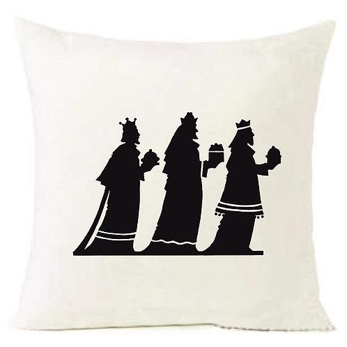 Christmas 3 Holy Kings Cushion Decorative Pillow COTTON OR LINEN -40cm