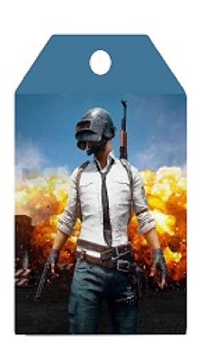 PUBG Game Gifts Tags - 12 pcs set