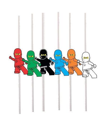 Ninjago Lego Cakepops Toppers - 12 pcs set