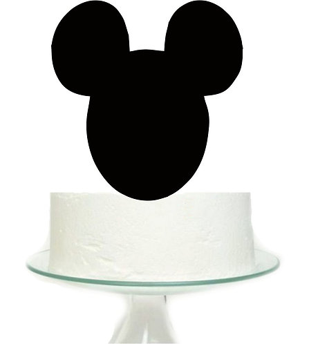 Mickey Head Big Topper for Cake - 1 pcs set