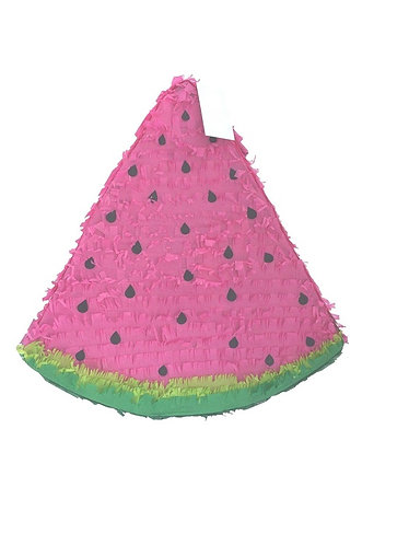 Watermelon Birthday Party Pull Strings Pinata Round - 40cm