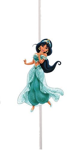 Aladdin Princess Jasmin Cakepops Toppers - 12 pcs set