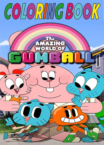 Gumball Small Coloring Book