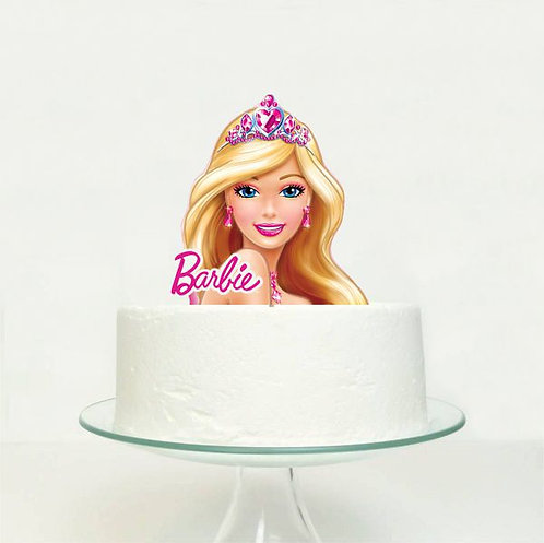 Barbie Big Topper for Cake - 1 pcs set