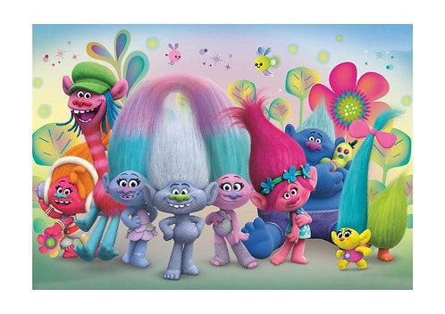 Trolls Invitations - 6pcs party invites